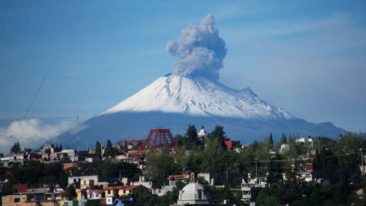 Presenta el volcán Popocatépetl 155 exhalaciones y casi ...
